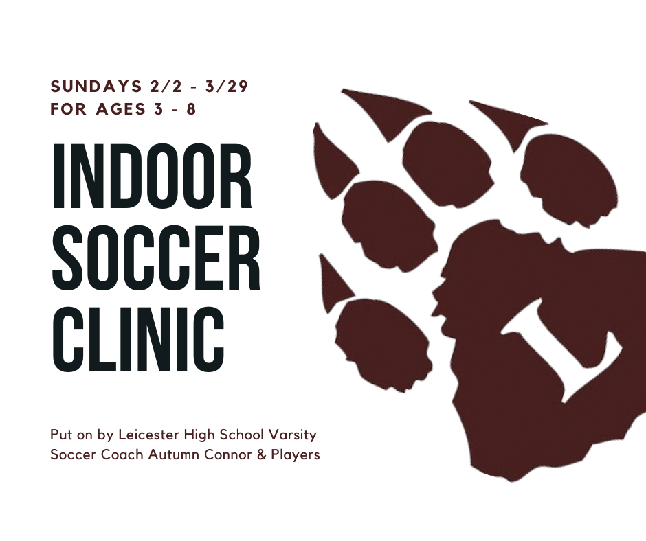 Indoor Soccer Clinic: Ages 3-8